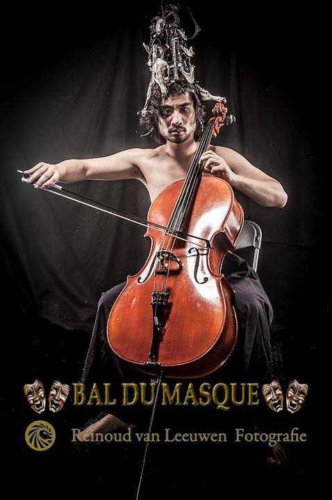 Photo by Reinoud van Leeuwen, for ball du masque